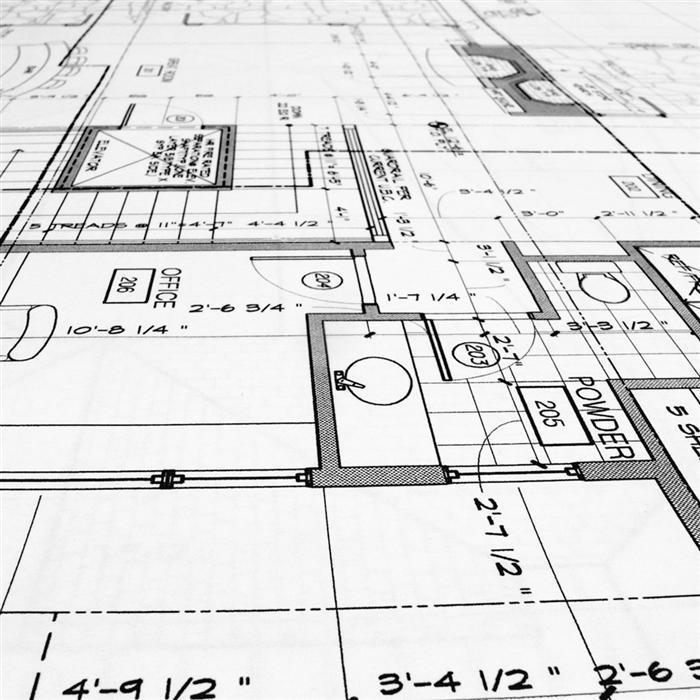 Progetto completo bktp web agency design - Planimetria della casa ...